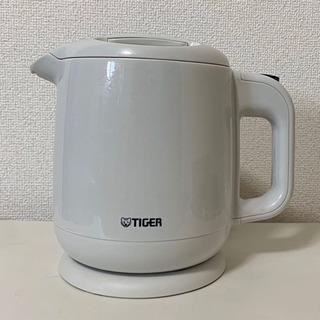 TIGER 電気ケトル 0.8L(フッ素加工内容器) PCE-A...