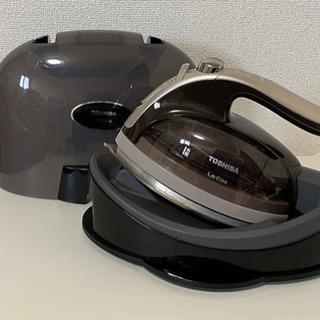 TOSHIBA コードレススチームアイロン TA-FVX800 ...