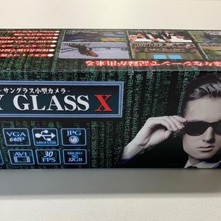 サングラス小型カメラ スパイグラスX 【新品未使用】