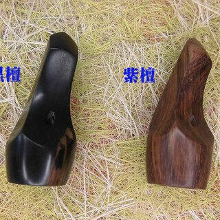 1.550円 沖縄三線専用木製爪  紫檀と黒檀からお一つ選択