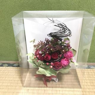 ハンドメイド 手作り作品 フラワーアレンジメント 造花 創作