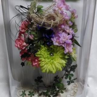 ハンドメイド 手作り 作品 フラワー アレンジメント 造花