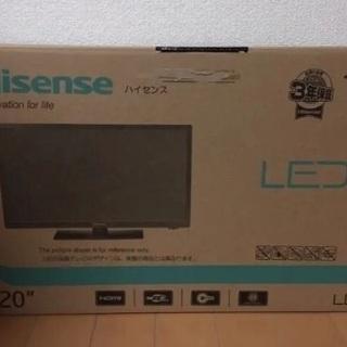 ハイセンス 20V型 液晶 テレビ HJ20D55 2016年モデル - 売ります・あげます