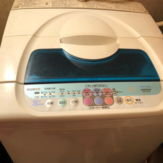 20日午後破棄予定。HITACH I全自動洗濯機