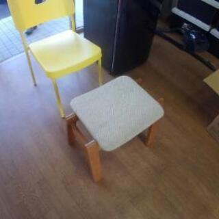 白い足乗せ台