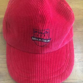 更に値引き・  FILA  Sports  CAP 帽子