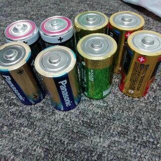 単1乾電池、単3乾電池