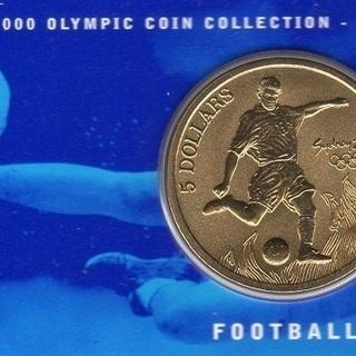2000年 シドニーオリンピック記念コイン(FOOTBAL…