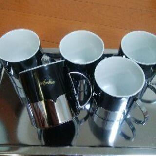 【未使用】コーヒーカップセットapollon