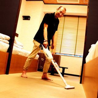 【障がい者求人】ホステル清掃スタッフ(就労継続支援A型)