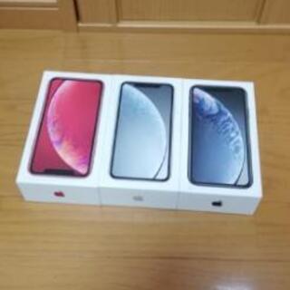 【新品 未使用 SIMロック解除済み】 iPhone XR 64...