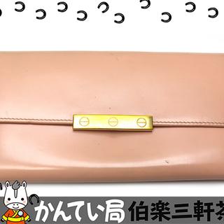 CARTIER【カルティエ】長財布 L3001374 ファスナー...