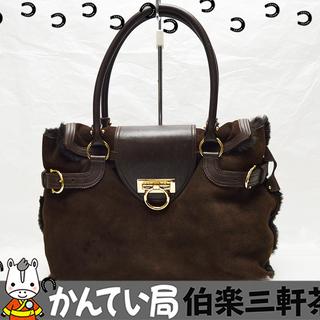 FERRAGAMO【フェラガモ】ハンドバッグ E2-21 488...