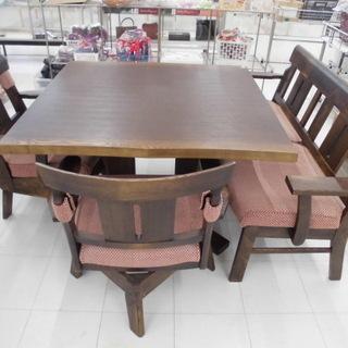 食卓テーブル 木製食卓テーブル お洒落なダイニングテーブル 幅:...