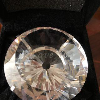 ダイヤモンド型置物
