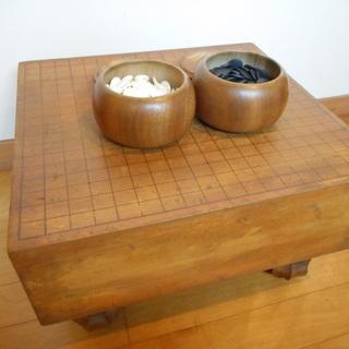 碁盤と将棋盤