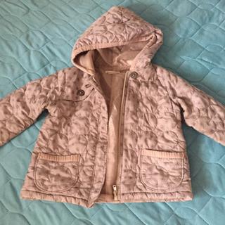 中古良品◎キムラタンPiccino90サイズ中綿入りコート男女可
