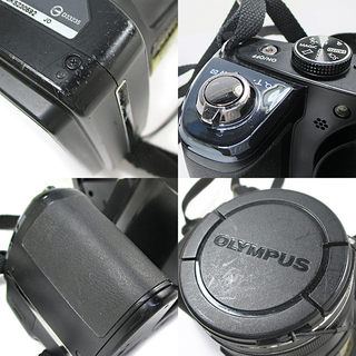 OLYMPUS STYLUS SP-820UZ デジタルカメラ ブラック - 厚木市