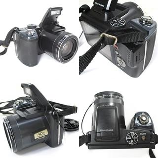 OLYMPUS STYLUS SP-820UZ デジタルカメラ ブラック - 家電