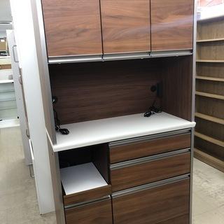 J138 シギヤマ家具 食器棚 カップボード 3枚扉 キッチン収納