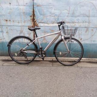 アサヒ プレシジョン クロスバイク 中古自転車 7段変速 …