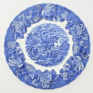 ◇WOOD&SONS ウッド&サンズ ウィローブルー 鉢 皿 1枚◇