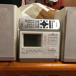 デジタルオーディオコンポ パナソニック sa-sx400【生産完了品】