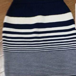 美品プライベートレーベル ニットスカート