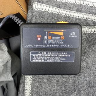PayPay対応 ホットカーペット 176×88㎝ 2018年製 NT1J 電気カーペット 美品 収納バッグ付き 速暖 ダニ退治機能 札幌市西区西野 - 家電