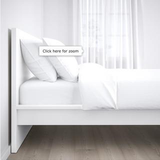 ニトリセミダブルマットレス / IKEA イケアベッドフレーム