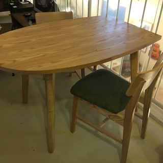 フランフラン バルス ダイニングテーブル3点セット テーブル チ...