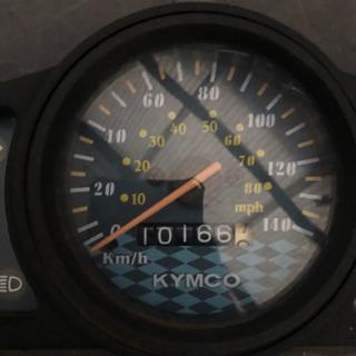 KYMCOアジリティ125cc台湾車