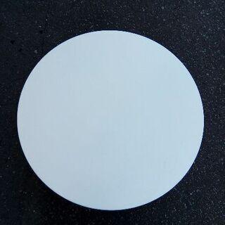 折りたたみ ローテーブル 丸 幅60cm ホワイト