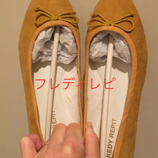 新品★フレディレピ★フラットシューズ