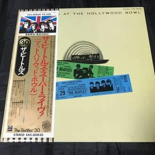 ビートルズAt The Hollywood Bowl LP東芝E...