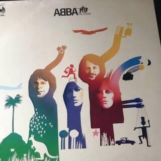 ABBA THE ALBUMのLPレコード