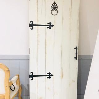 アンティーク調飾りドア