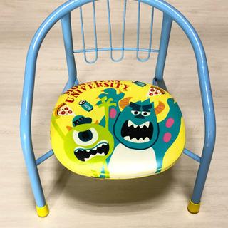 モンスターズインク  ディズニー 椅子 豆いす パイプ