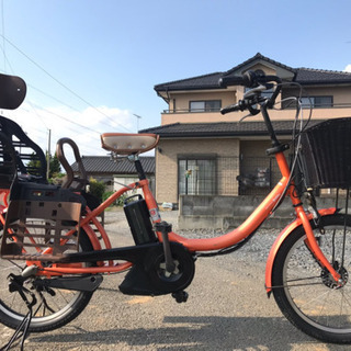 831 電動自転車ヤマハパス バビー 20インチ 充電器なし