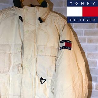 【90s】古着 Tommy トミーヒルフィガー  ダウンジャケッ...