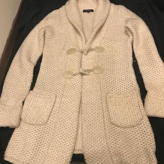 ジャイロのニットコート、細身