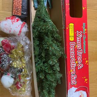 クリスマスツリー(高さ90㎝)お引取り中です。