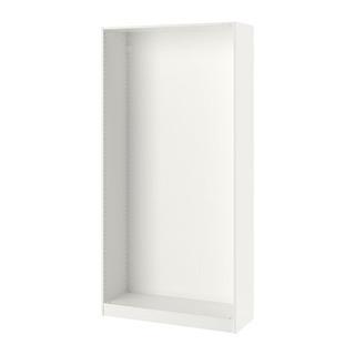 PAX IKEAパックス ワードローブホワイト, 100x35x...