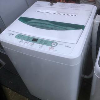 2016年製 ヤマダ電機オリジナル 全自動電気洗濯機 (4.5k...