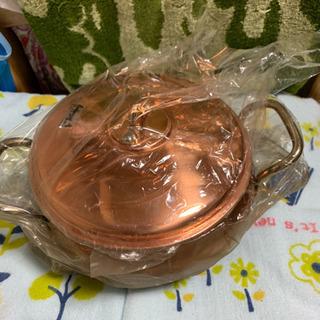 銅色のお鍋