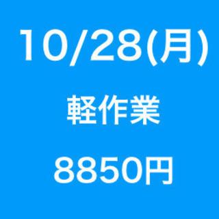 【無断欠勤厳禁】単発/日払い/松戸市/工場での作業/10月28日