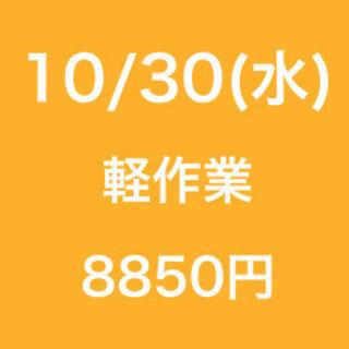 【無断欠勤厳禁】単発/日払い/松戸市/工場での作業/10月30日
