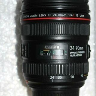 Canon Lシリーズ EF 24-70mm 1:4L IS USM