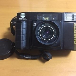 フィルムカメラ  MINOLTA