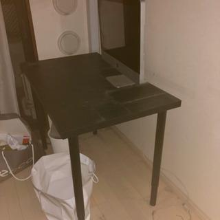 IKEA 黒テーブル 10/19夕方以降取りに来れる方